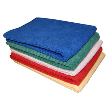 Microfibre Cleaning Cloths (Colour Coded)