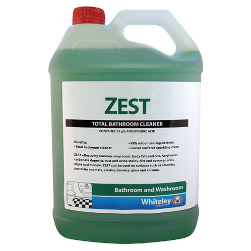 5L Zest Total Bathroom Cleaner