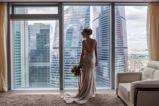 Свадьба Москва-Сити