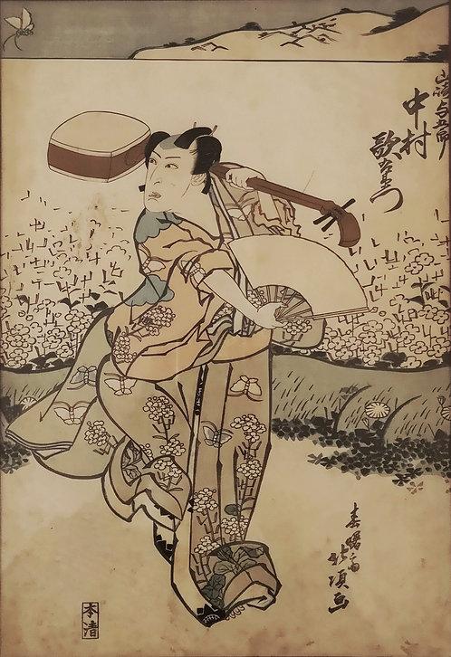 Hokuei, estampe japonaise