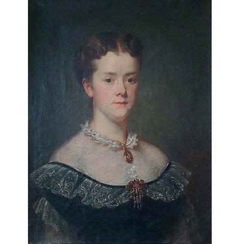 Portrait d'une dame de qualité