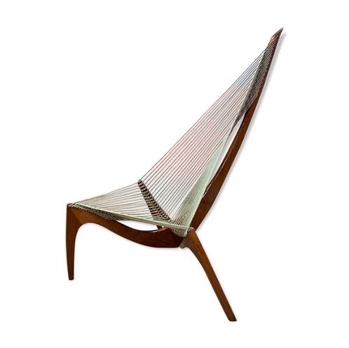 Jørgen Høvelskov, Harp Chair Chaise harpe pour Christensen et Larsen, Danemark