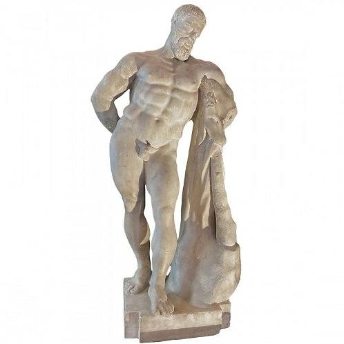 Hercule Farnese Farnèse sculpture marbre fin XVIe siècle Heracles