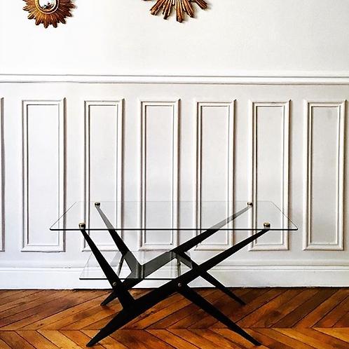 Angelo Ostuni, Table basse rectangulaire à deux plateaux
