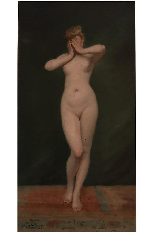 Auguste de La Brély, Nu féminin