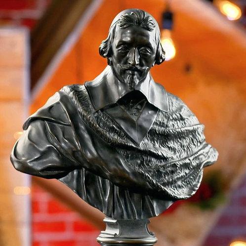 Jean Warin Richelieu bronze