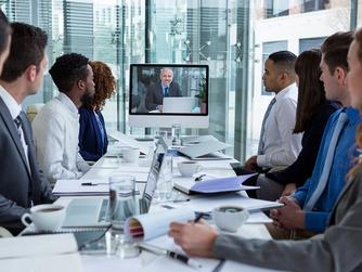 Videoconferência: reuniões empresariais com mais qualidade