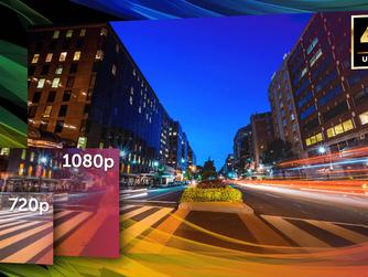 Veja as diferenças de resolução de imagem em CFTV