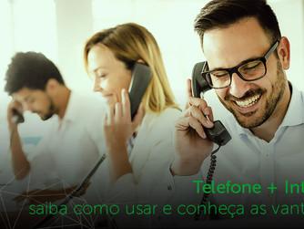 Telefone + internet: saiba como usar e conheça as vantagens