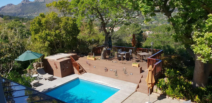 Guest House Patio, Pool & Jacuzzi