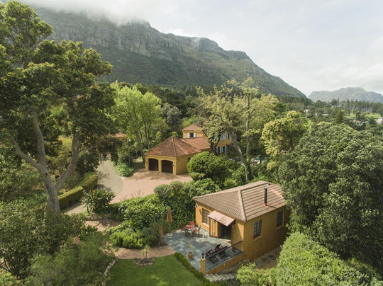 Aerial View of Guest House