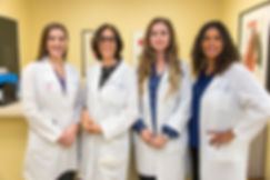 Dr. Lara Paraskos,Dr. Diane Kriger, Dr. BIanca Alfonso, Athena Vanzant, PA