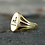 Thumbnail: Victorian Griffin Signet Ring in 14k Yellow Gold