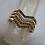 Thumbnail: Vintage Chevron Bangles Diamond Bangle Ruby Bangle Emerald Bangle Sapphire