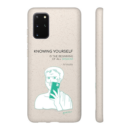 Knowing Yourself... Biodegradable Case