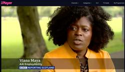 Viana and Nonnie on the BBC