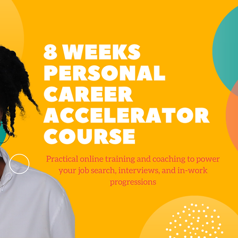 8 Week Career Accelerator Course