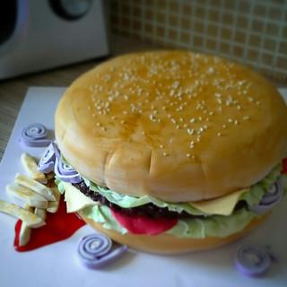 "Торт ""Гамбургер"""