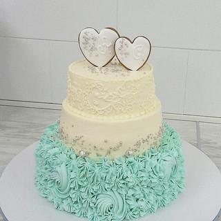 Свадебный торт Гатчина 1