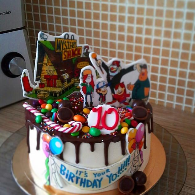 Торт детский 15