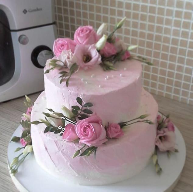 Свадебный торт Гатчина 2