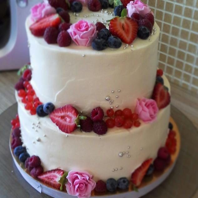 Свадебный торт Гатчина 3