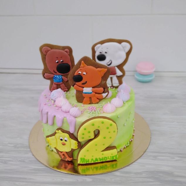 Детский торт 2