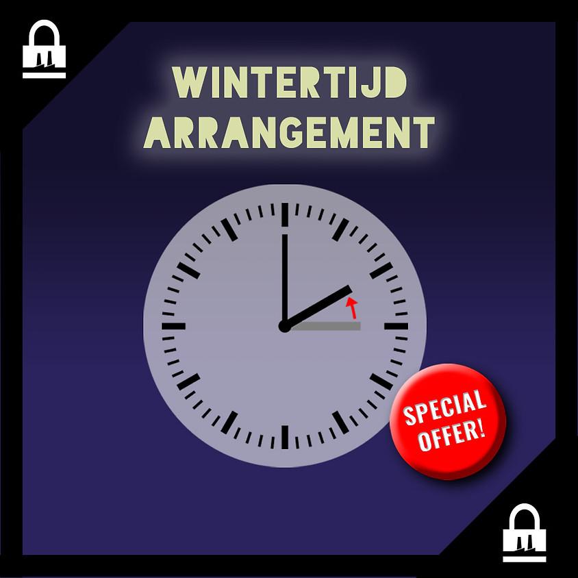 SPECIAL: Wintertijd Arrangement