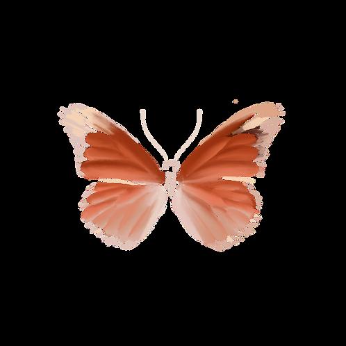 The Monarch Sticker