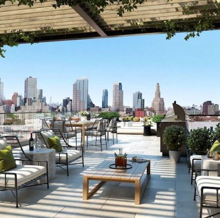 Luxury Residential Buildings with Exceptional Roof Decks and Outdoor Amenities
