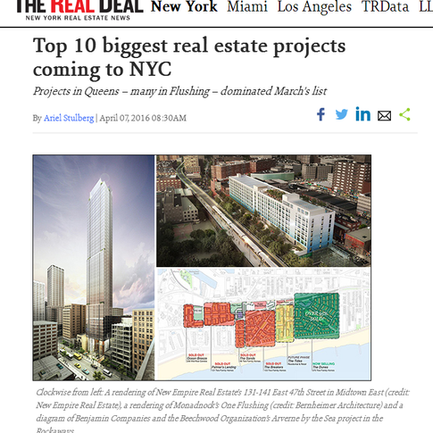 The Real Deal Report about Manhattan LEX47 Project of New Empire Corp.