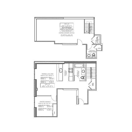 1548 72nd St #1A 1297ft² 555/ft² 1 bed 1.5 bath