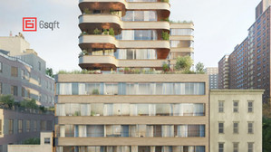 New details for ODA's curvy condo tower on the Lower East Side