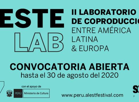 Se abre la convocatoria a ESTE LAB - Laboratorio de Coproducción de proyectos de Largometraje