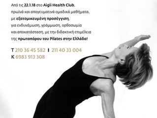 Pilates news!!