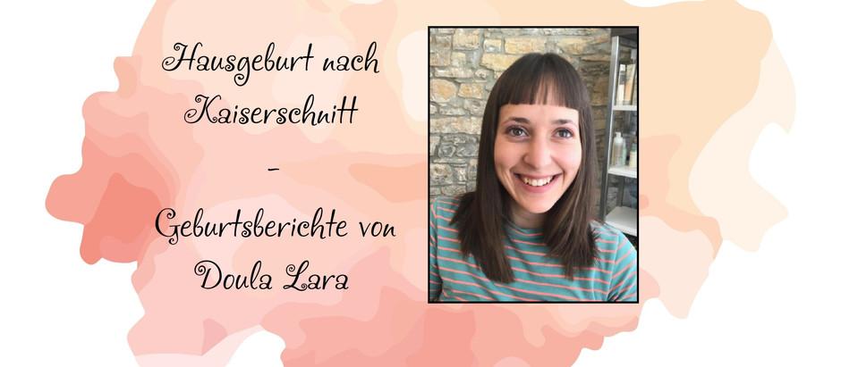 Hausgeburt nach Kaiserschnitt - Geburtsberichte von Doula Lara
