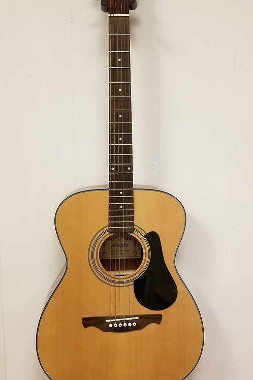 Alvarez RF8 Folk Size Acoustic Guitar and hard case