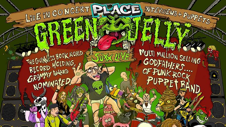Upcoming Summer Event Green Jelly
