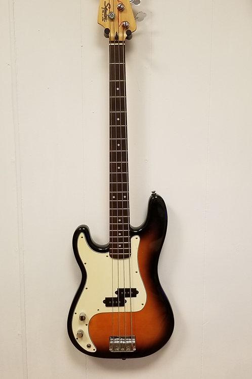 Korean Squier Precision Bass by Fender 1996 Left Handed Korea MIK Lefty