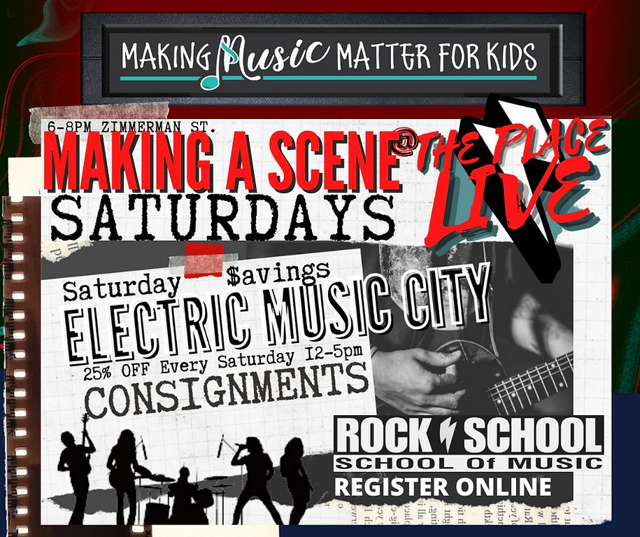 Electric Music City Saturdays