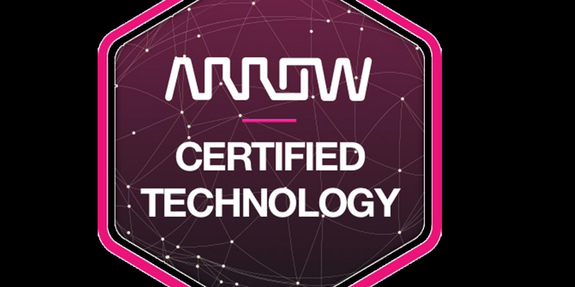 Riku is Arrow Certified.