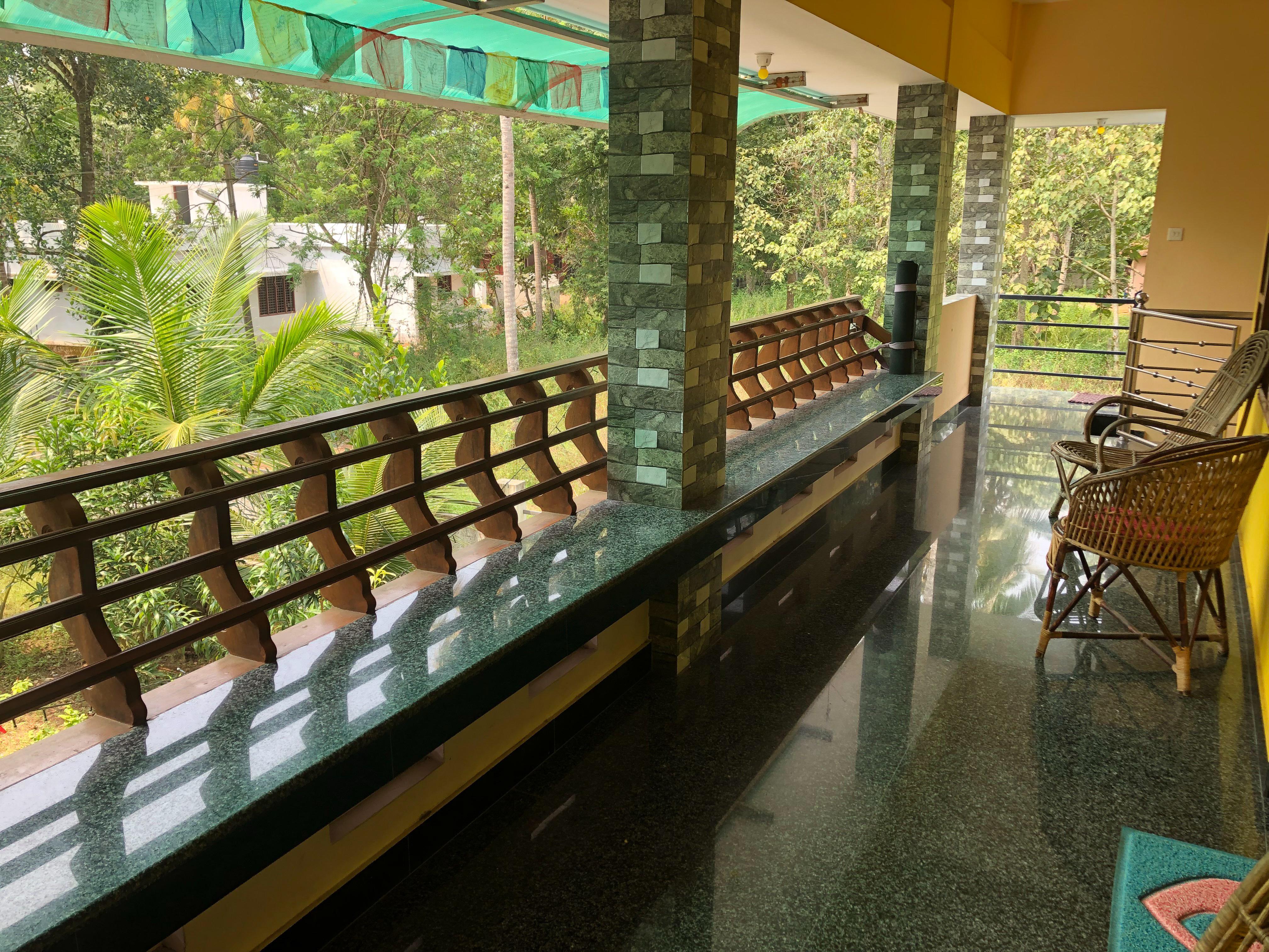Shakti Ashram Balcony