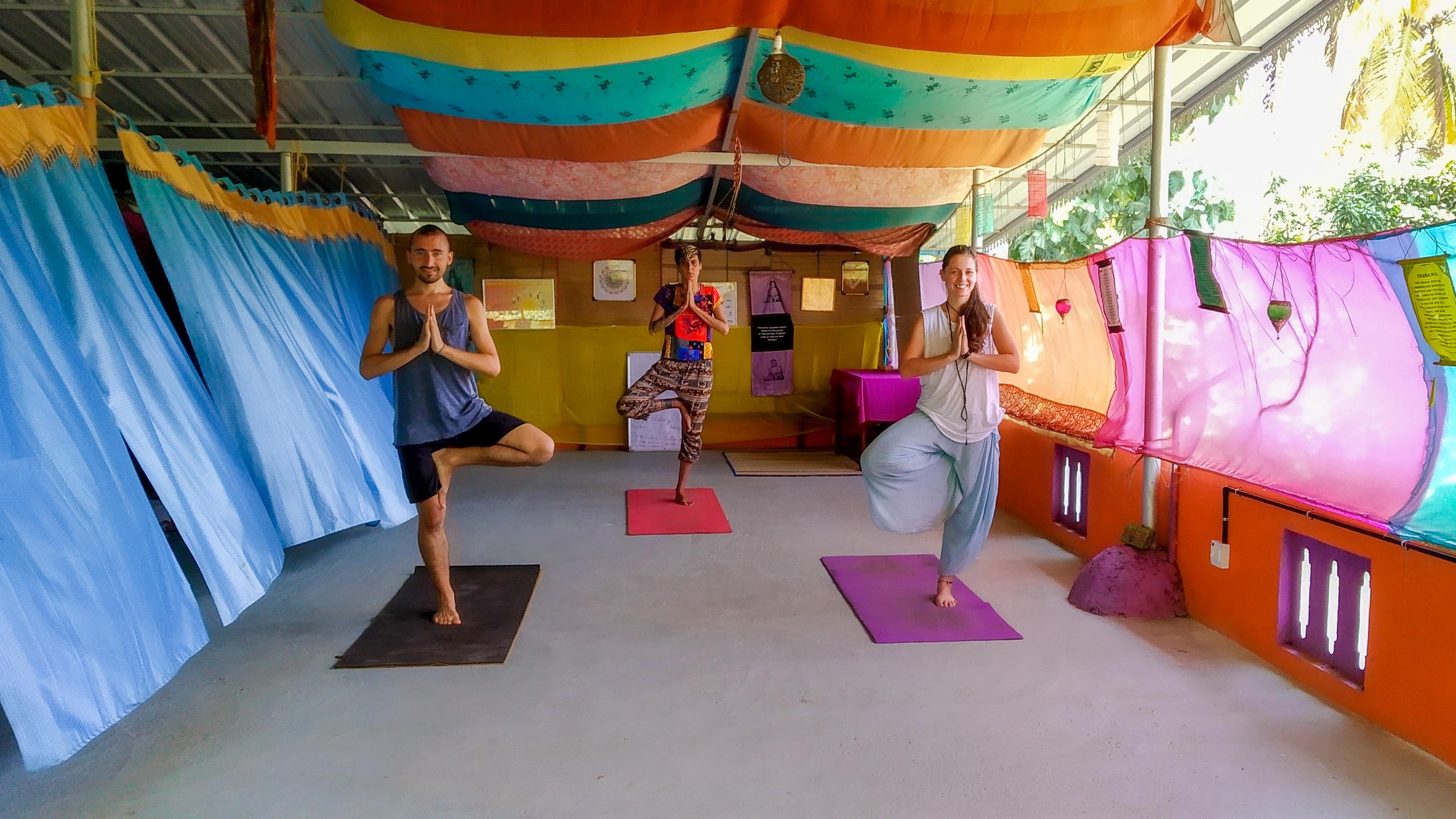 Shakti Ashram Yoga Hall