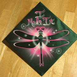 Kansas City and Airbrushing and Danville and Airbrushing and Reidsville Graduation Cap.jpg