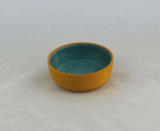 Maple Vessel, Dye and Acrylic