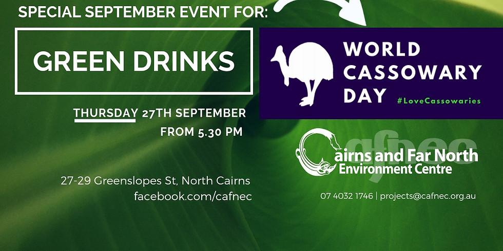 Green Drinks September - World Cassowary Day Event
