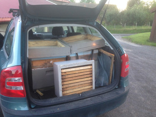 100 000 bier inni bilen!