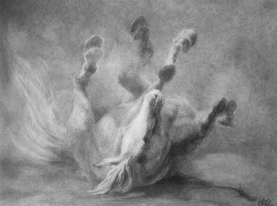 Rullende hest av Silje Høidal