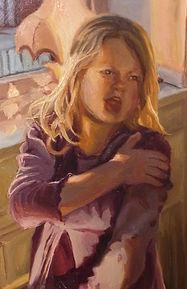Portrettmaleri av Silje Høidal
