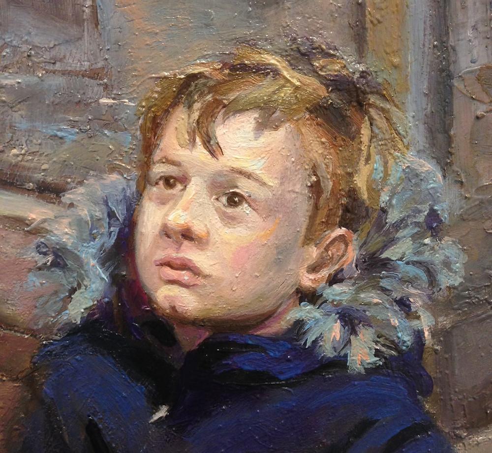 Portrett maleri, portrait painting